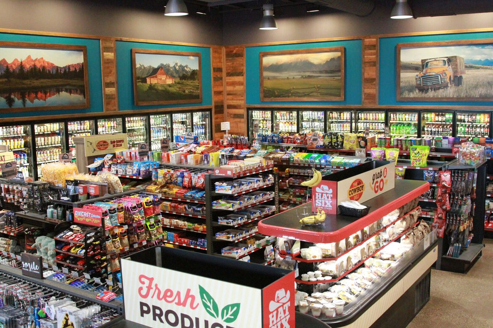 Come see what Wyoming has to offer at Hat Six Travel Center